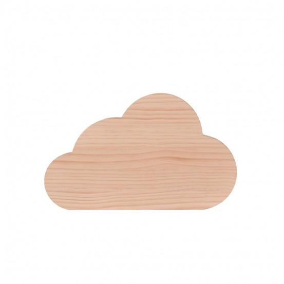 Nube de madera natural