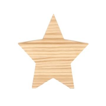 Estrella de madera