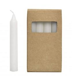 Pack velas blancas