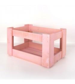 Caja de madera apilable personalizada CM0013