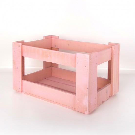 Caja de madera Apilable CM0013-NATURAL