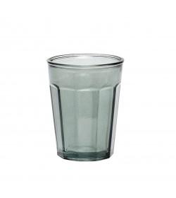 Vaso vidrio reciclado verde