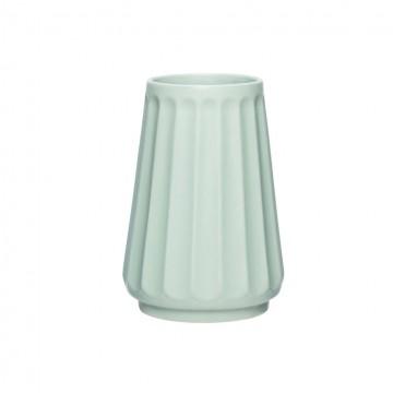 Jarrón cerámica verde pequeño