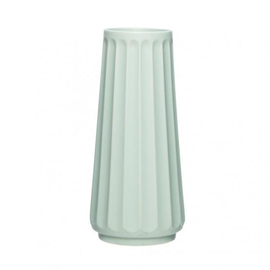 Jarrón cerámica verde grande