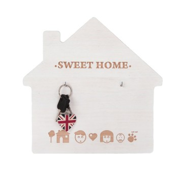 Porta-llaves Casita personalizable