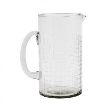 Botella de agua vidrio