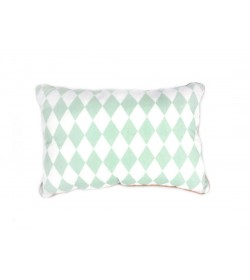 Cushion Jack - Rombos verdes