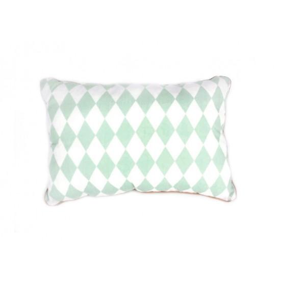 Cushion Jack - Rombos verdes