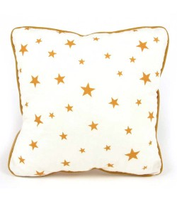 Cushion Joe - Estrellitas mostaza