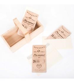 Caja de madera personalizada CM0028