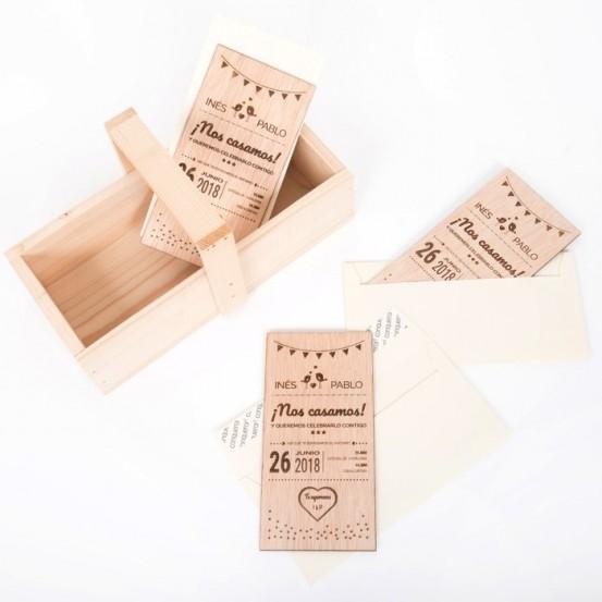 Caja de madera CM0028