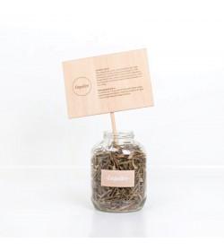 Cartel con palo (25x18cm)