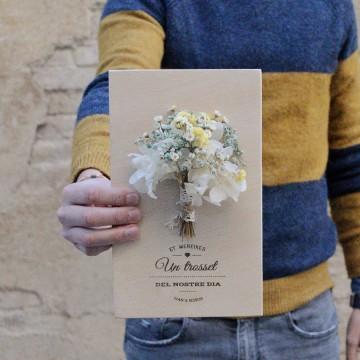 Detalle ramo novia pequeño