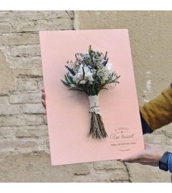 Cartel ramo novia M1