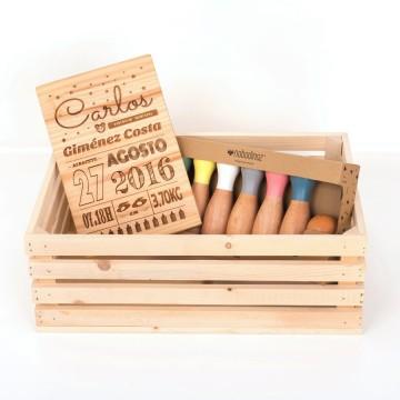 Caja de madera CM0023
