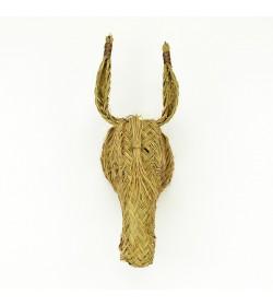 Cabeza burro de esparto