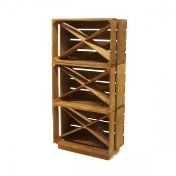 Bodeguero de cajas de madera