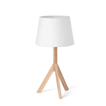 Lámpara de sobremesa trípode