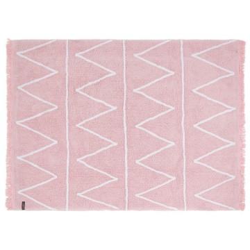 Alfombra hippy rosa 120x160cm