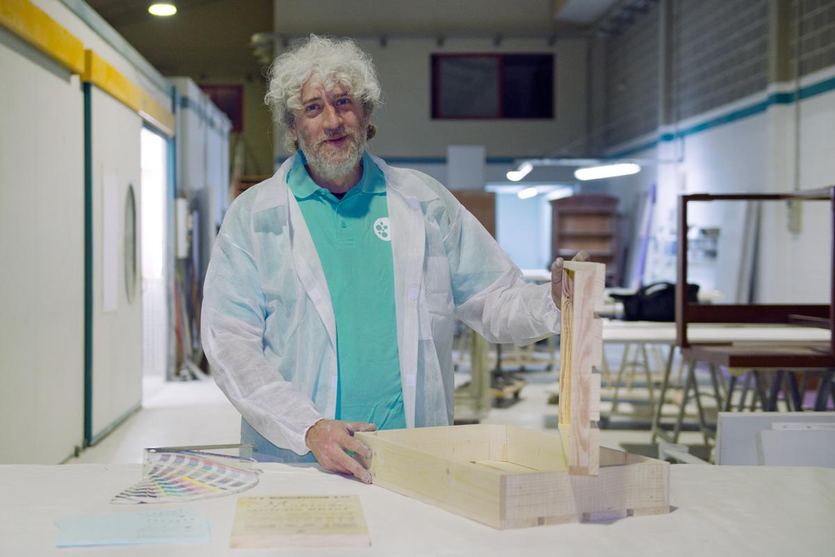 Carlos Aguilera jefe de fábrica